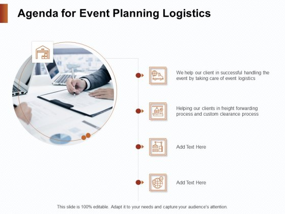 Strategies_For_Organizing_Events_Agenda_For_Event_Planning_Logistics_Ppt_PowerPoint_Presentation_Summary_Demonstration_PDF_Slide_1