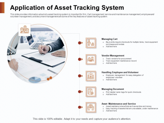 Strategies_For_Organizing_Events_Application_Of_Asset_Tracking_System_Ppt_PowerPoint_Presentation_Model_Icons_PDF_Slide_1