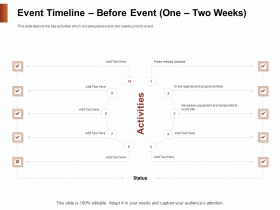 Strategies_For_Organizing_Events_Event_Timeline_Before_Event_One_Two_Weeks_Ppt_Icon_Grid_PDF_Slide_1