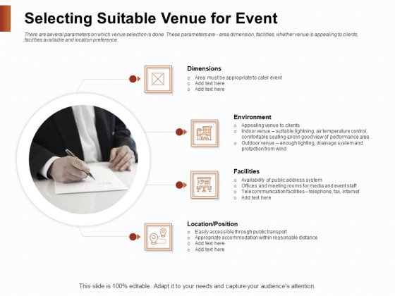 Strategies_For_Organizing_Events_Selecting_Suitable_Venue_For_Event_Ppt_File_Display_PDF_Slide_1