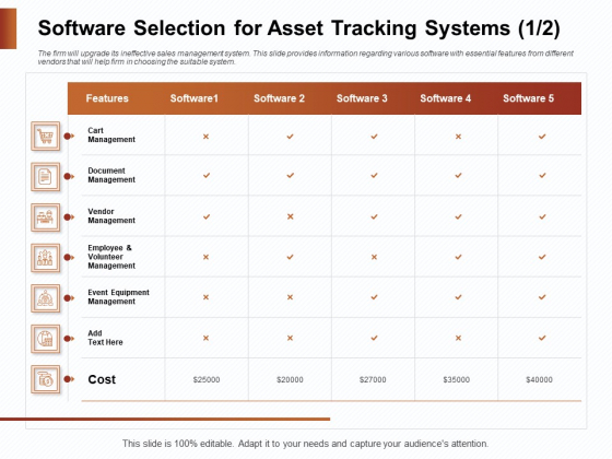 Strategies_For_Organizing_Events_Software_Selection_For_Asset_Tracking_Systems_Ppt_Infographics_Ideas_PDF_Slide_1