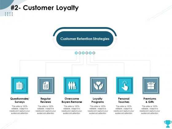 Strategies Take Your Retail Business Ahead Competition 2 Customer Loyalty Infographics PDF