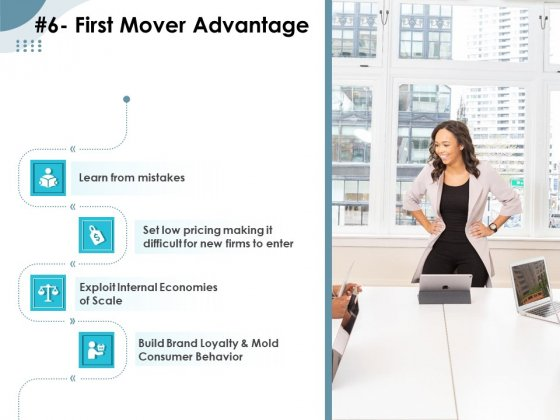 Strategies Take Your Retail Business Ahead Competition 6 First Mover Advantage Themes PDF