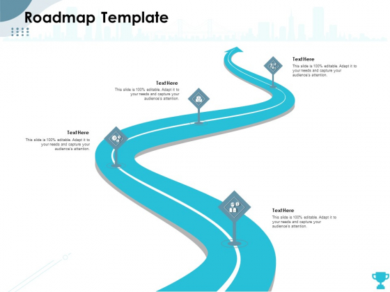 Strategies Take Your Retail Business Ahead Competition Roadmap Template Designs PDF