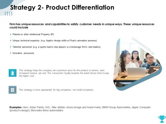 Strategies Take Your Retail Business Ahead Competition Strategy 2 Product Differentiation Background PDF