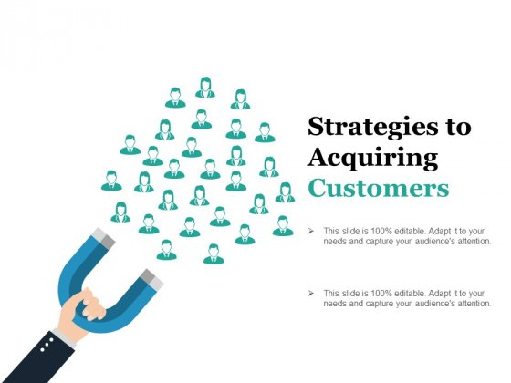 Strategies To Acquiring Customers Ppt PowerPoint Presentation Model Slides