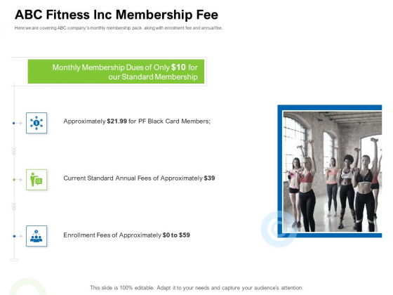 Strategies To Enter Physical Fitness Club Business ABC Fitness Inc Membership Fee Download PDF