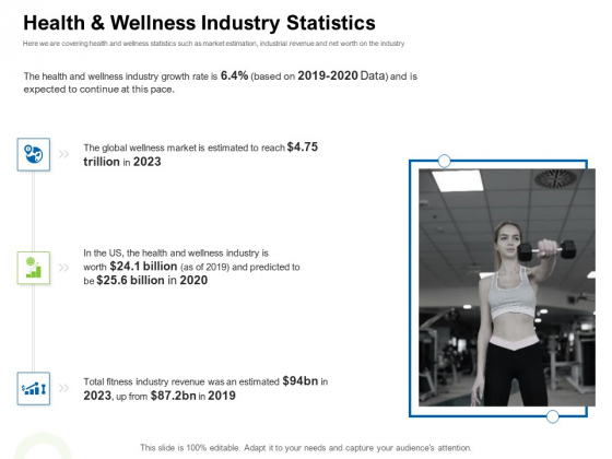 Strategies To Enter Physical Fitness Club Business Health And Wellness Industry Statistics Designs PDF