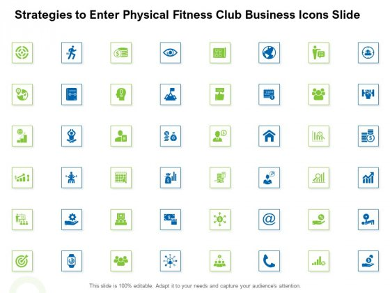 Strategies_To_Enter_Physical_Fitness_Club_Business_Icons_Slide_Infographics_PDF_Slide_1