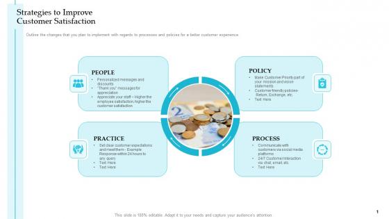 Strategies To Improve Customer Satisfaction Steps Improve Customer Engagement Business Development Infographics PDF