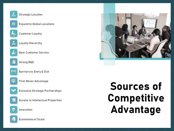Strategies To Win Customers From Competitors Sources Of Competitive Advantage Pictures PDF