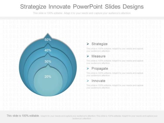 Strategize Innovate Powerpoint Slides Designs