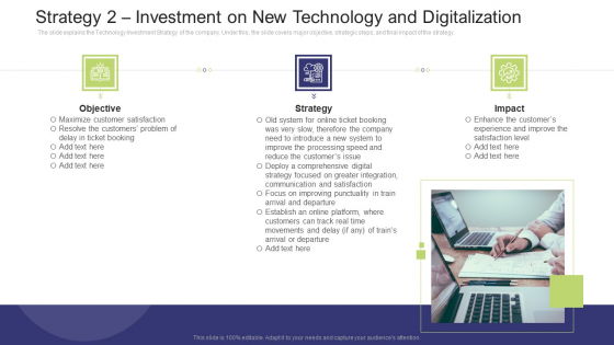 Strategy 2 Investment On New Technology And Digitalization Designs PDF