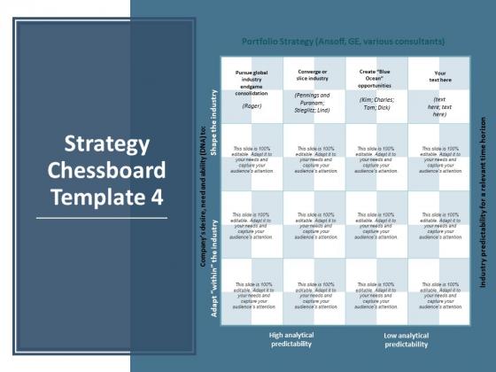 Strategy Chessboard Marketing Planning Ppt PowerPoint Presentation File Slide Portrait