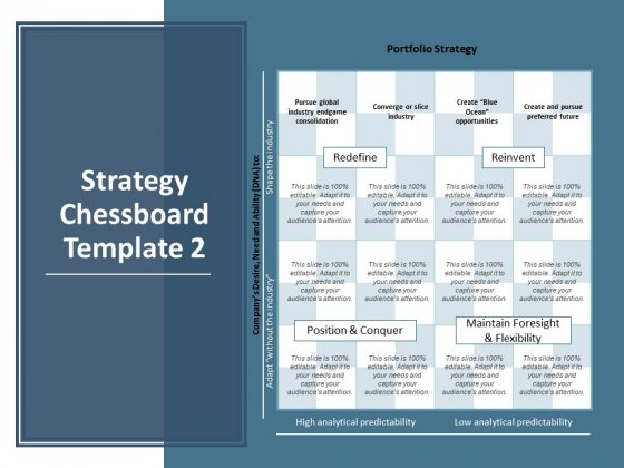 Strategy Chessboard Marketing Ppt PowerPoint Presentation Infographics Templates