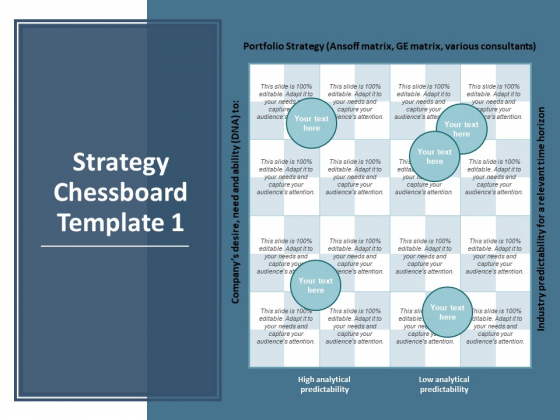 Strategy Chessboard Planning Ppt PowerPoint Presentation File Maker