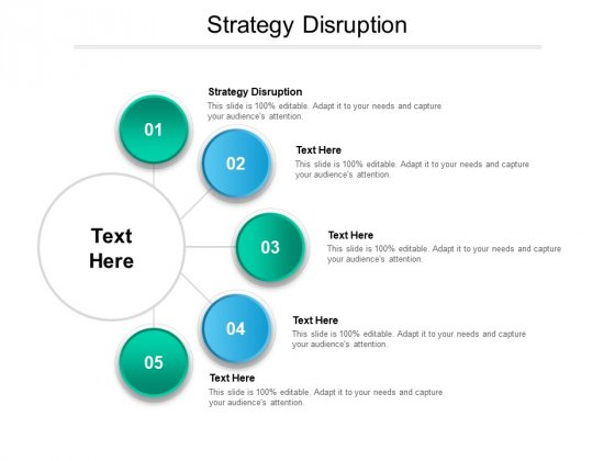Strategy Disruption Ppt PowerPoint Presentation Show Graphics Download Cpb Pdf