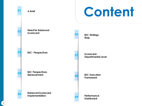Strategy Execution Balanced Scorecard Content Ppt Layouts Gallery PDF
