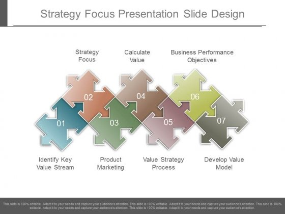 Strategy Focus Presentation Slide Design