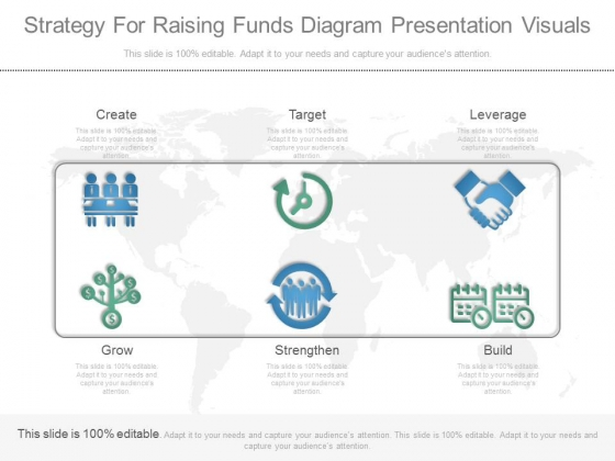 Strategy For Raising Funds Diagram Presentation Visuals
