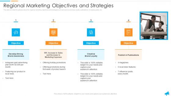 Strategy For Regional Economic Progress Outlining Regional Marketing Objectives And Strategies Designs PDF