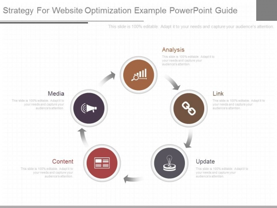Strategy For Website Optimization Example Powerpoint Guide