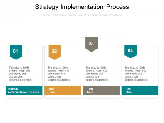 Strategy Implementation Process Ppt PowerPoint Presentation Icon Templates Cpb