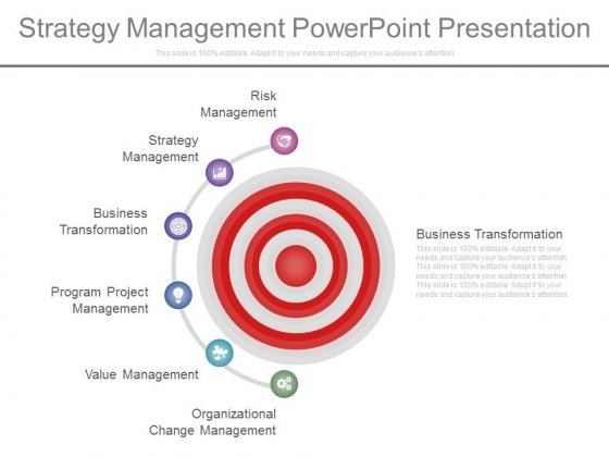 Strategy Management Power Point Presentation