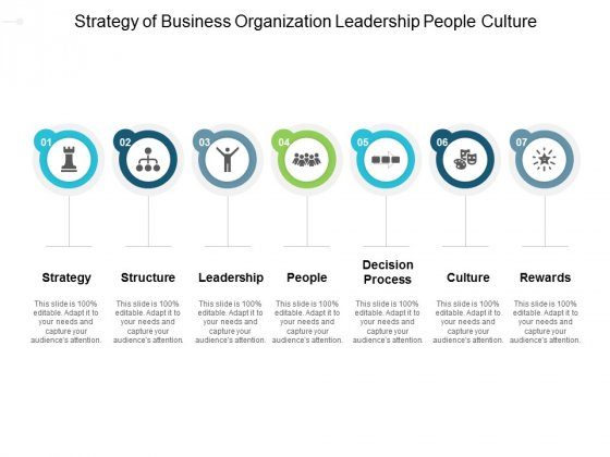 Strategy Of Business Organization Leadership People Culture Ppt PowerPoint Presentation Infographic Template Icons