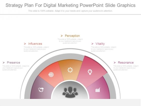 Strategy Plan For Digital Marketing Powerpoint Slide Graphics