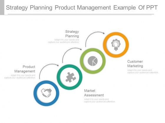 Strategy Planning Product Management Example Of Ppt