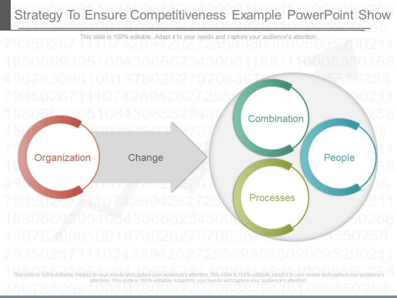 Strategy To Ensure Competitiveness Example Powerpoint Show