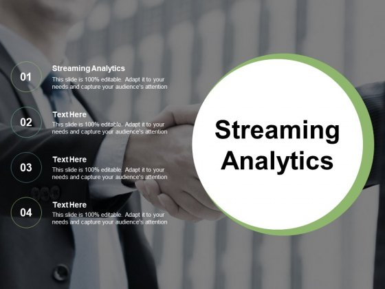 Streaming Analytics Ppt PowerPoint Presentation Layouts Example Cpb