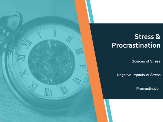 Stress And Procrastination Ppt PowerPoint Presentation File Formats