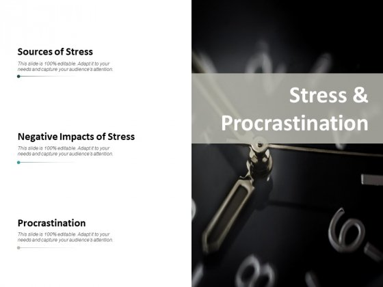 Stress And Procrastination Ppt PowerPoint Presentation Slides Sample