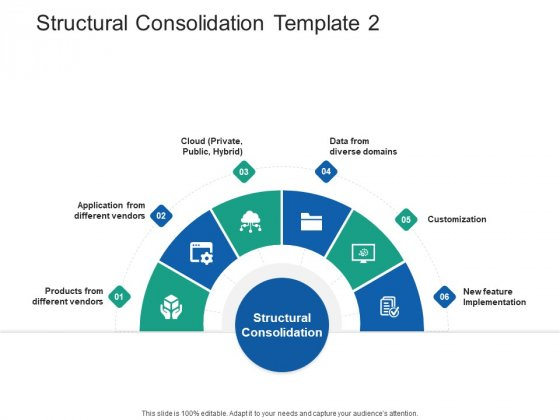 Structural Consolidation Solutions Structural Consolidation Products Ppt Professional Elements PDF