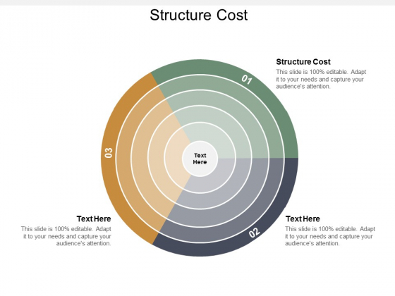 Structure Cost Ppt Powerpoint Presentation Summary Deck Cpb