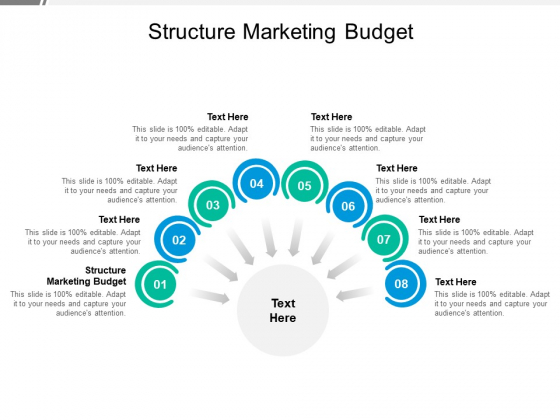 Structure Marketing Budget Ppt PowerPoint Presentation Infographics Maker Cpb