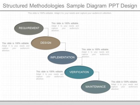 Structured Methodologies Sample Diagram Ppt Design
