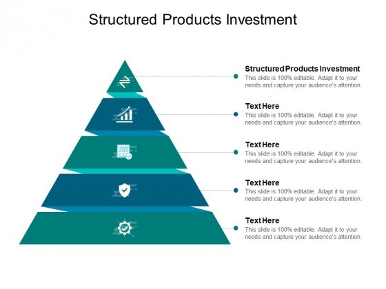 Structured Products Investment Ppt PowerPoint Presentation Infographics Microsoft Cpb Pdf