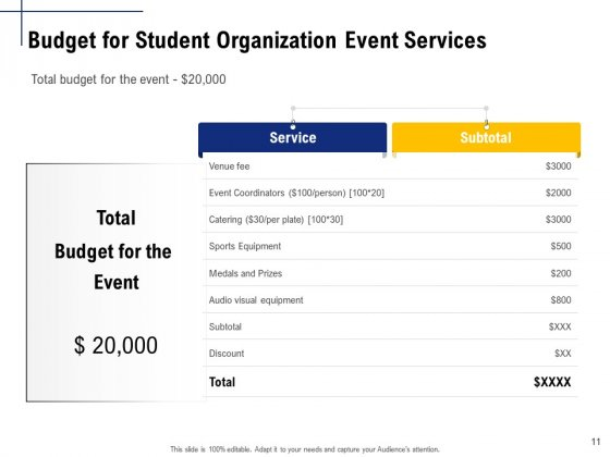 Student_Club_Event_Planning_Ppt_PowerPoint_Presentation_Complete_Deck_With_Slides_Slide_11