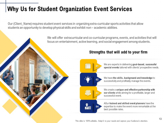 Student_Club_Event_Planning_Ppt_PowerPoint_Presentation_Complete_Deck_With_Slides_Slide_13