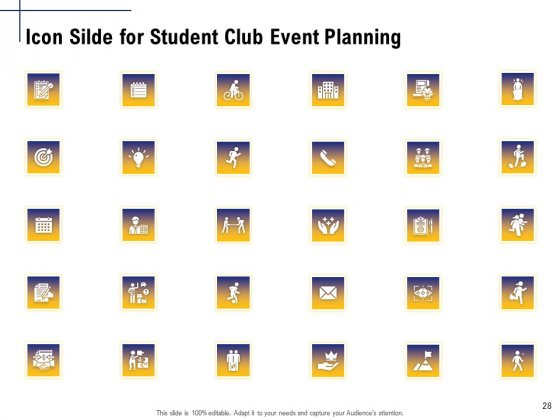 Student_Club_Event_Planning_Ppt_PowerPoint_Presentation_Complete_Deck_With_Slides_Slide_28