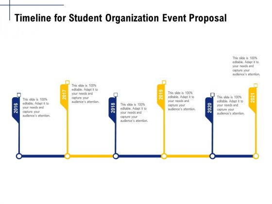 Student_Club_Event_Planning_Timeline_For_Student_Organization_Event_Proposal_Ppt_Gallery_Template_PDF_Slide_1
