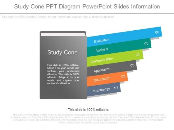 Study Cone Ppt Diagram Powerpoint Slides Information