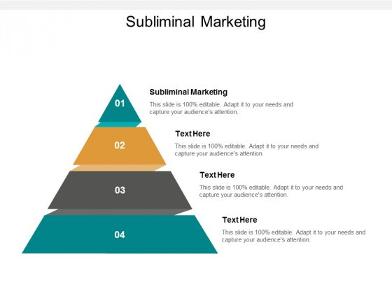 subliminal marketing ppt powerpoint presentation portfolio graphics pictures cpb