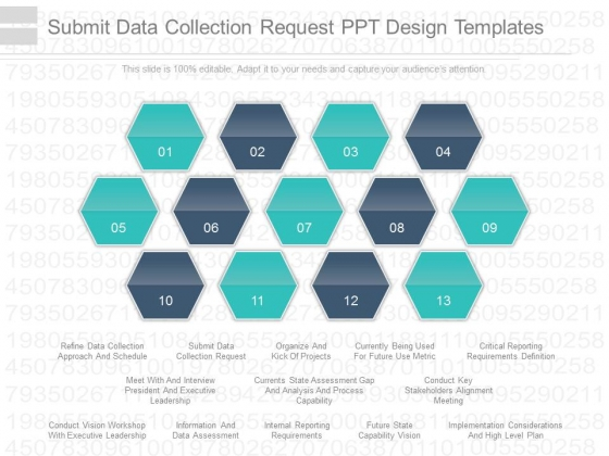 Submit Data Collection Request Ppt Design Templates