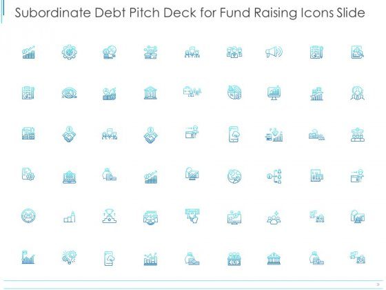 Subordinate Debt Pitch Deck For Fund Raising Icons Slide Ppt PowerPoint Presentation Gallery Inspiration PDF