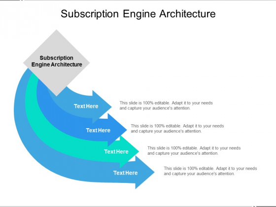 Subscription Engine Architecture Ppt PowerPoint Presentation Outline Graphics Design Cpb