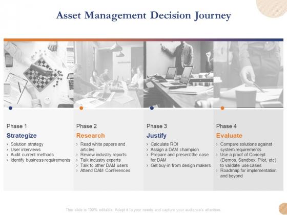 Substructure Segment Analysis Asset Management Decision Journey Ppt Outline Portrait PDF